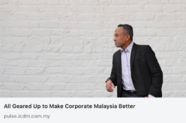 Up to make corporate Malaysia better
