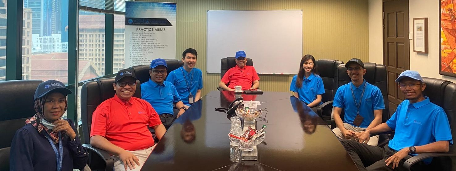 The Firm Celebrates Its' 20th Anniversary with Corporate Shirts and Caps